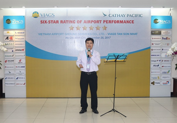 Viags Tsn Receives 6 Star Quality Certificate From Cathay Pacific Airways Viags